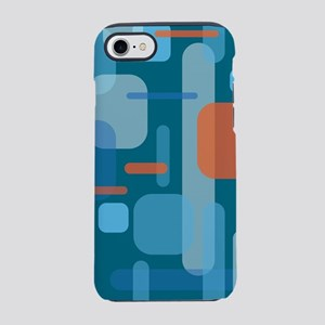 Blues and Coral from the Mid iPhone 8/7 Tough Case