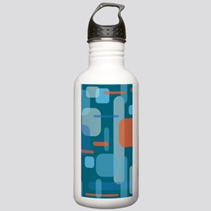 Blues and Coral from t Stainless Water Bottle 1.0L