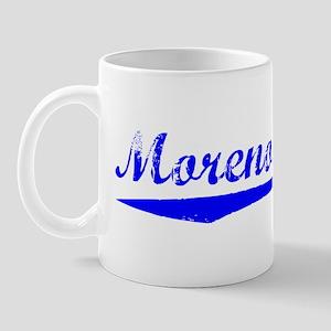 Vintage Moreno Val.. (Blue) Mug