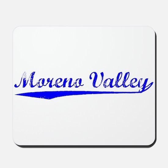 Vintage Moreno Val.. (Blue) Mousepad