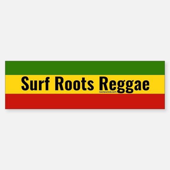 Surf Roots Reggae Bumper Bumper Bumper Sticker