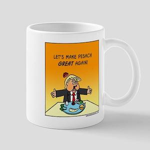 Make Pesach Great Again Trump 11 Oz Ceramic Mugs