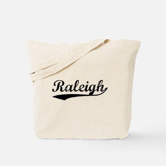 Vintage Raleigh (Black) Tote Bag