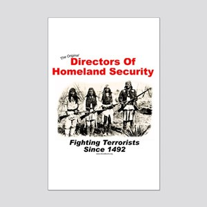 Homeland Security Since 1492 Mini Poster Print