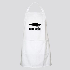 Bagpipe Wedding BBQ Apron