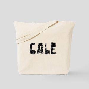Cale Faded (Black) Tote Bag