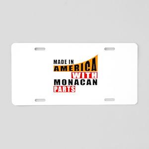 Made In America With Monaca Aluminum License Plate