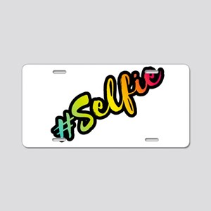 PopArt Style Aluminum License Plate