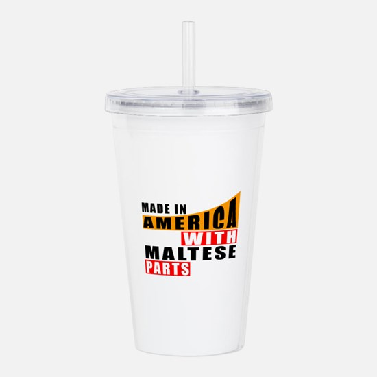 Made In America With M Acrylic Double-wall Tumbler
