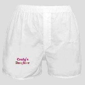 Craig's Dad Boxer Shorts
