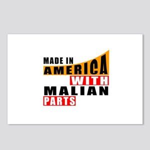 Made In America With Mali Postcards (Package of 8)