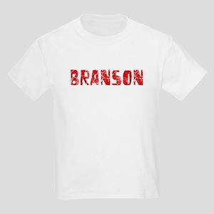 Branson Faded (Red) Kids Light T-Shirt