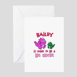 Bailey's Daughter Greeting Card