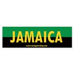 Jamaica Rasta Bumper Sticker (10 pk)