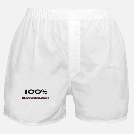 100 Percent Endocrinologist Boxer Shorts