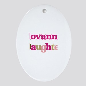 Giovanni's Dad Oval Ornament