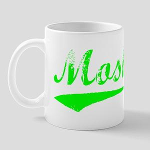 Vintage Moshe (Green) Mug