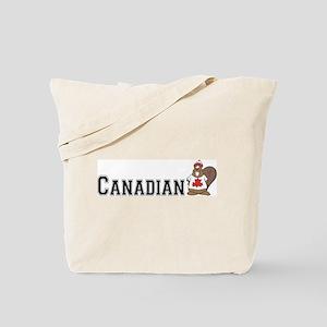 Canadian Beaver Tote Bag