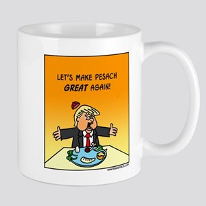 Make Pesach Great Again Trump 11 Oz Ceramic Mugs