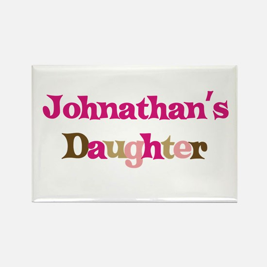 Johnathan's Dad Rectangle Magnet