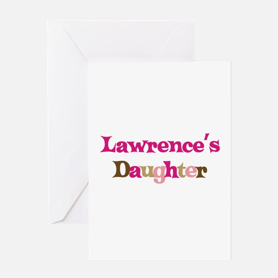 Lawrence's Dad Greeting Card