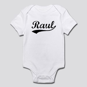 Vintage Raul (Black) Infant Bodysuit