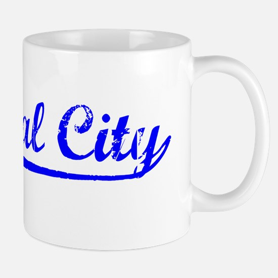 Vintage National C.. (Blue) Mug