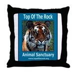 Apache Tiger Throw Pillow