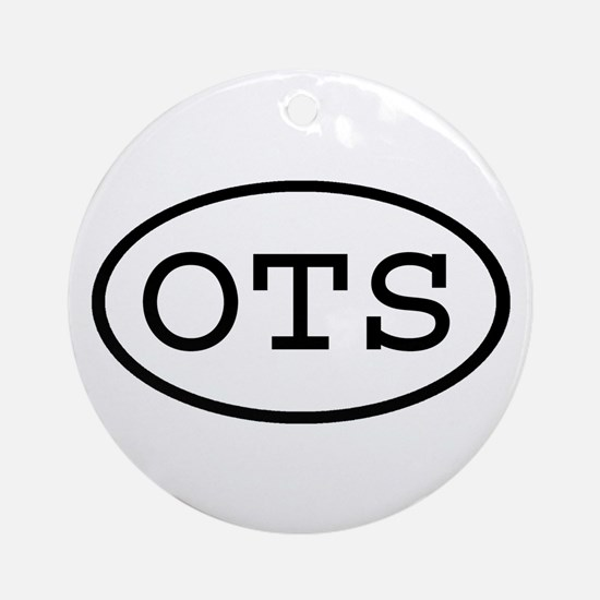 OTS Oval Ornament (Round)