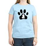 Westie Paw Women's Light T-Shirt