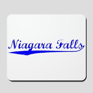 Vintage Niagara Fa.. (Blue) Mousepad