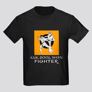 Kuk Sool Won Fighter Designs Kids Dark T-Shirt