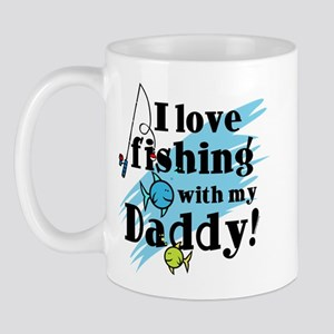 Fishing With Daddy Mug