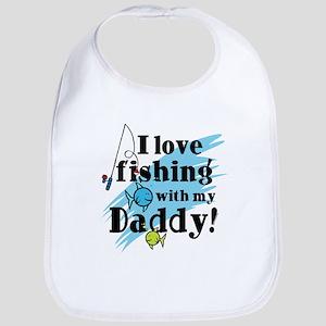 Fishing With Daddy Bib