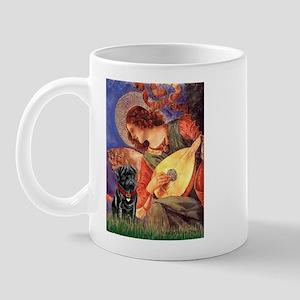 Mandolin Angel / Pug (blk) Mug