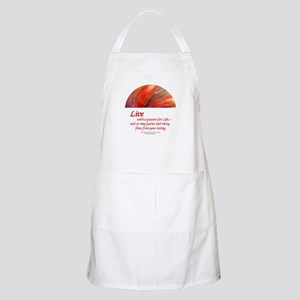 Live with a Passion BBQ Apron