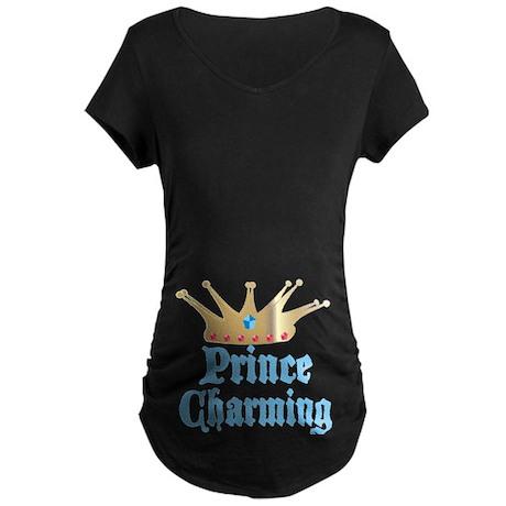 Prince Charming Maternity Dark T-Shirt