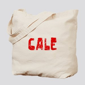 Cale Faded (Red) Tote Bag