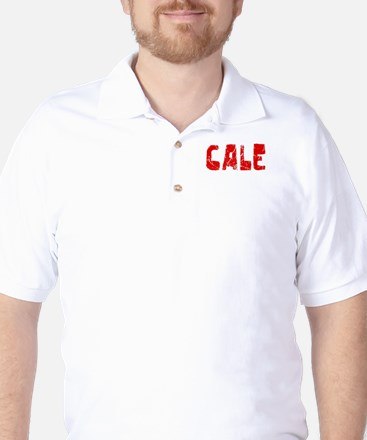 Cale Faded (Red) Golf Shirt