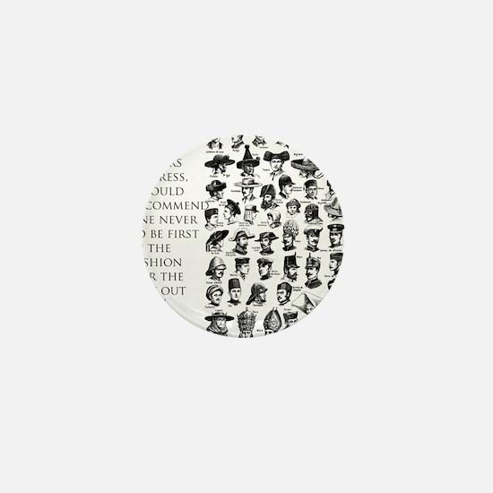 John Wesley 's view of fashion Mini Button