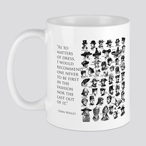 John Wesley 's view of fashion Mug