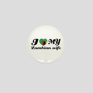 I love my Zambian Wife Mini Button