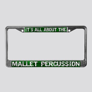 All Abt Mallet Percussion License Plate Frame Grn