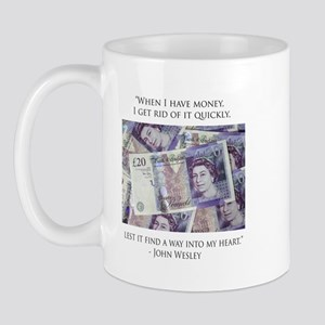 How John Wesley handled money Mug