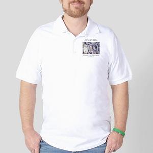How John Wesley handled money Golf Shirt