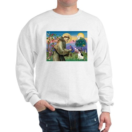 St Francis / Rat Terrier Sweatshirt