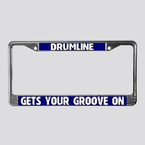 Get your Groove On Drumline License Plate Frame