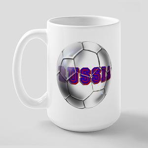 Russian football Large Mug