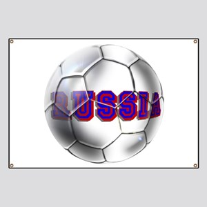 Russian football Banner