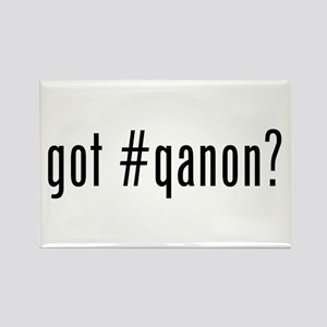 got #qanon Rectangle Magnet